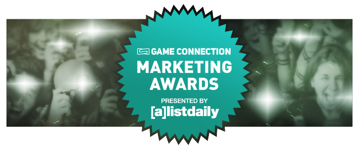 marketing awards game connection