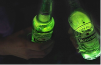 Branded Entertainment Heineken Bottle