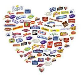 snaking our brand heart Mondelez
