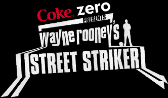 Coke Zero presents Wayne Roooneys Street Striker logo